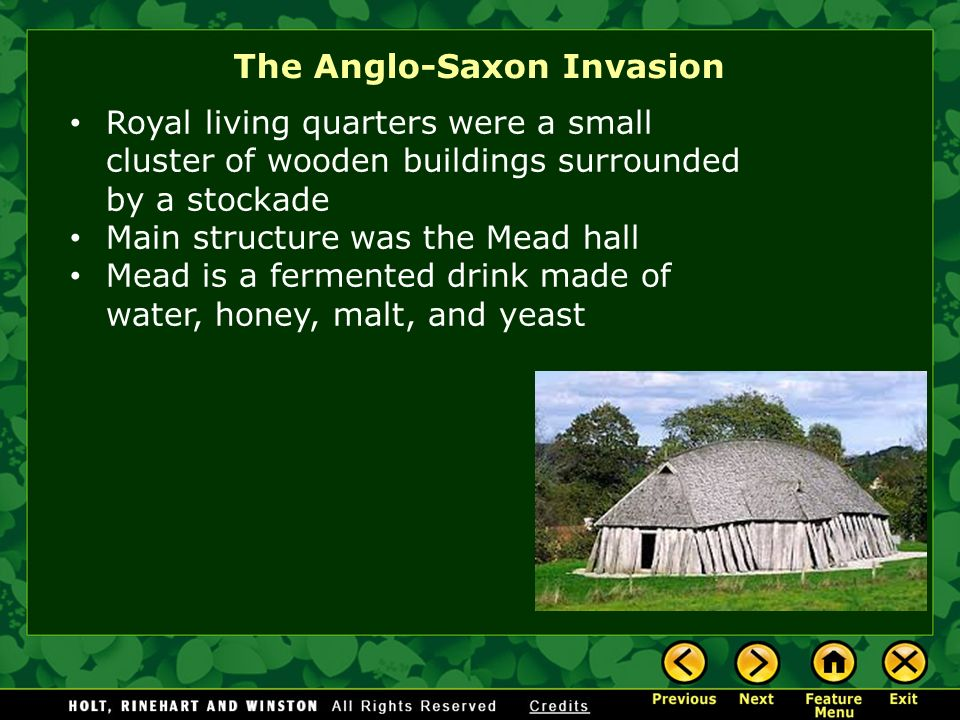 The Anglo-Saxon Invasion