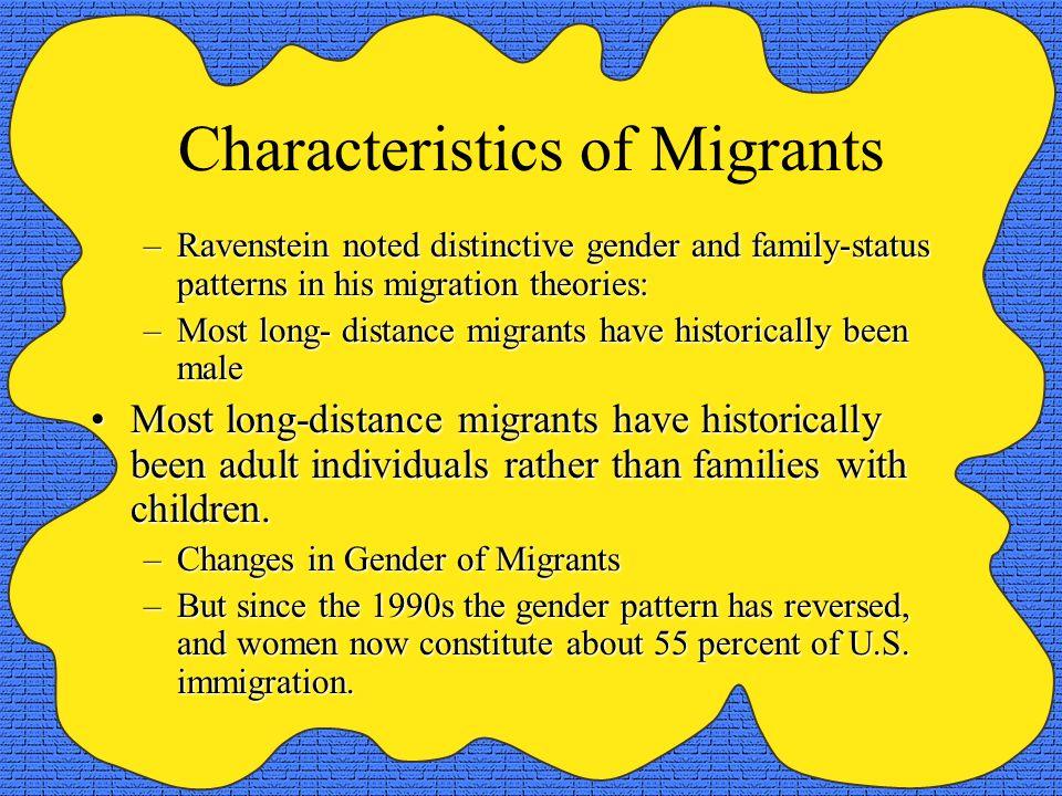 Characteristics of Migrants