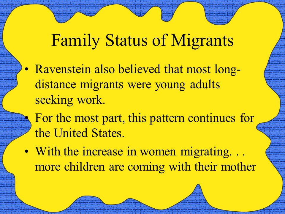 Family Status of Migrants