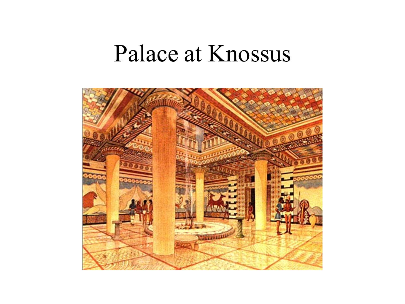 Palace at Knossus
