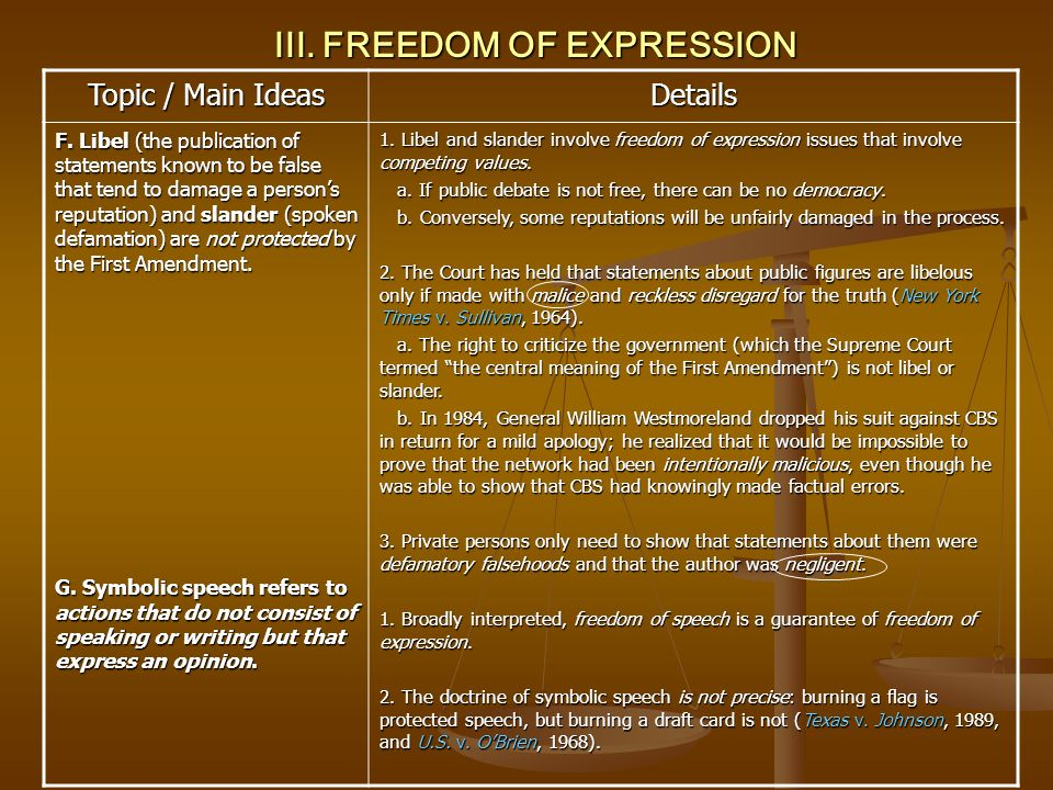 Freedom of Speech Essay: Example and Tips