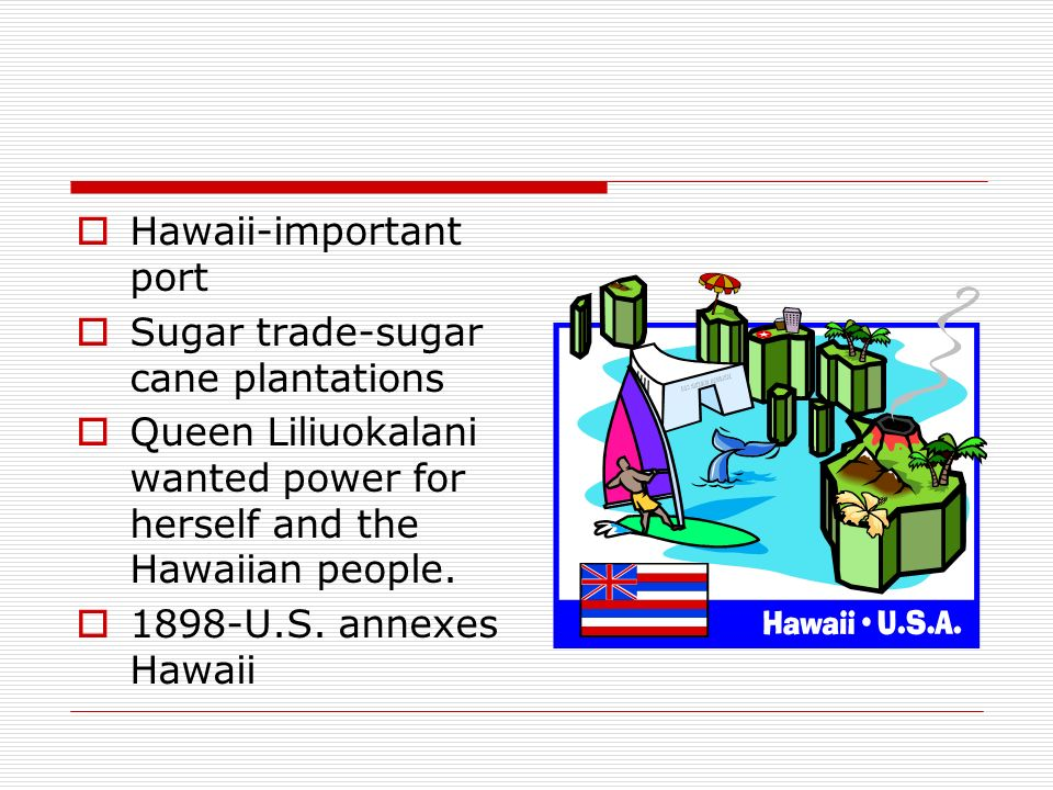 Hawaii-important port