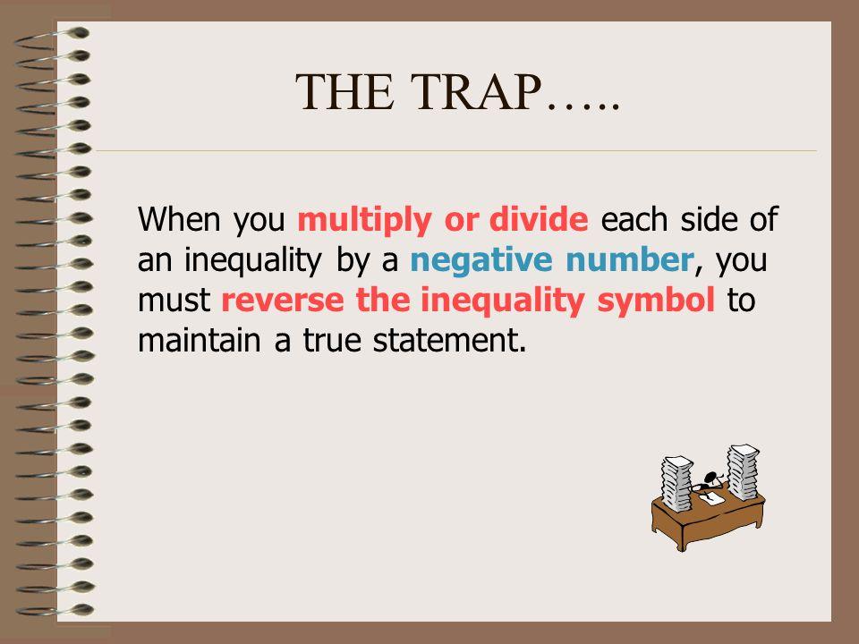 THE TRAP…..