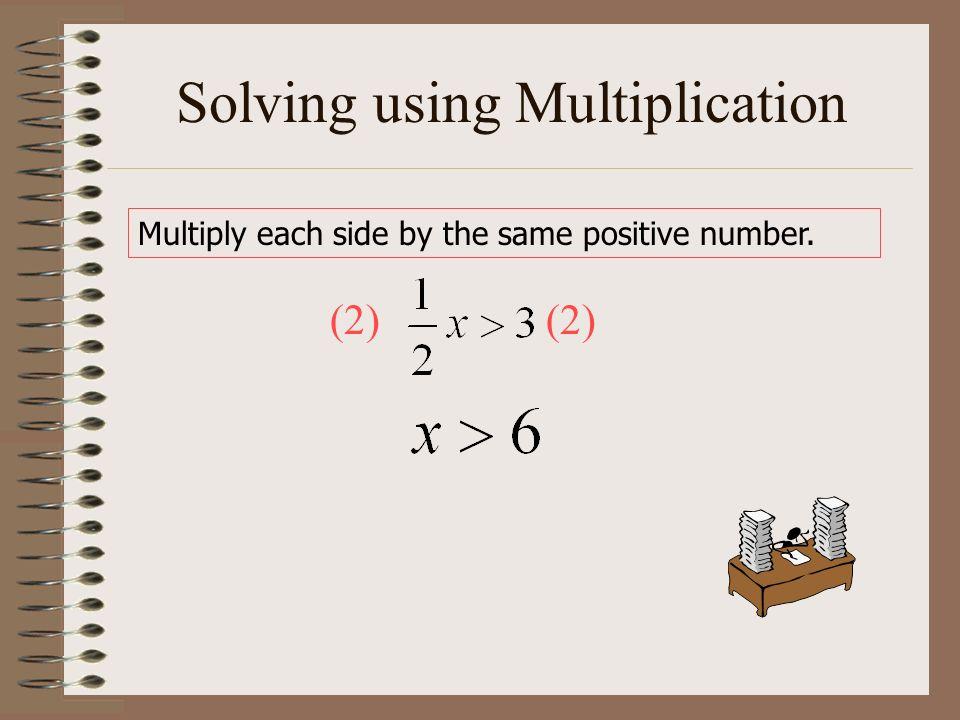 Solving using Multiplication