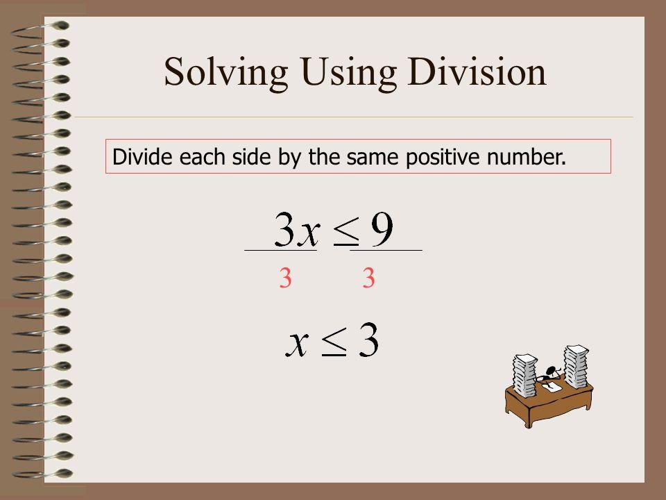 Solving Using Division