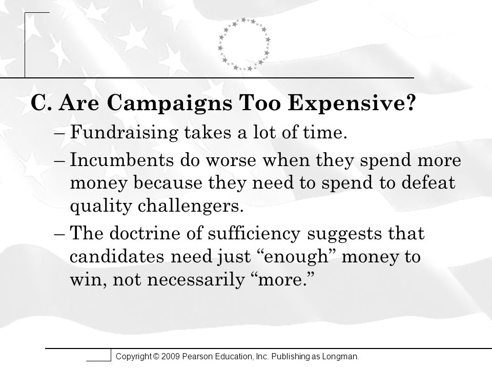 C. Are Campaigns Too Expensive