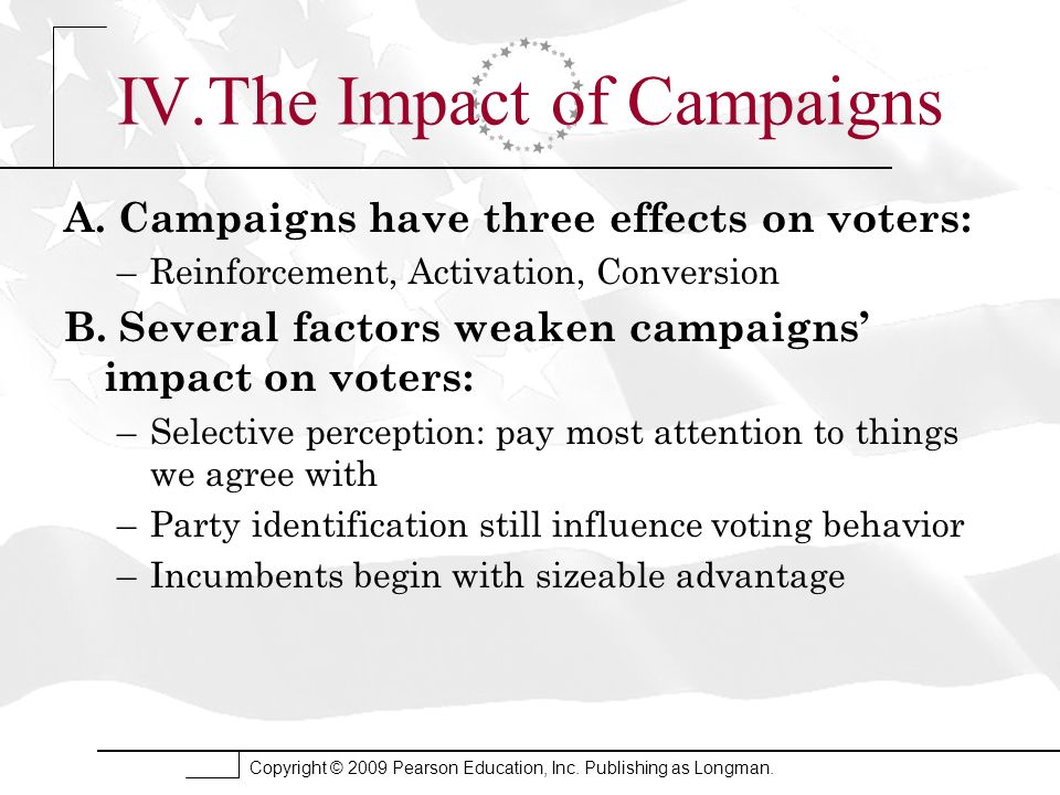 IV.The Impact of Campaigns