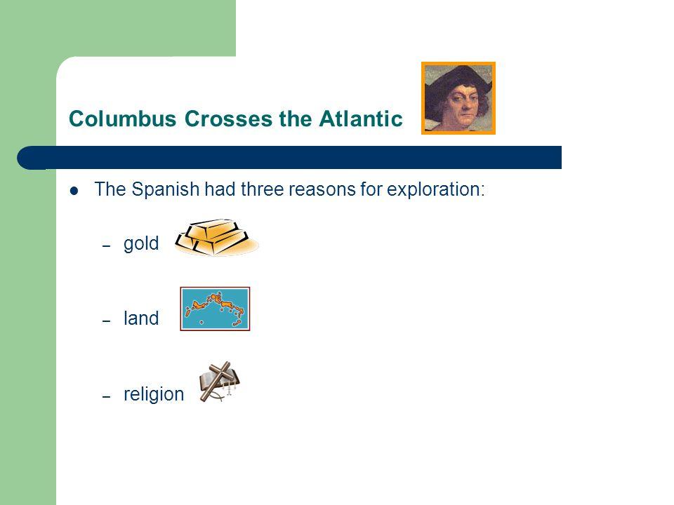 Columbus Crosses the Atlantic