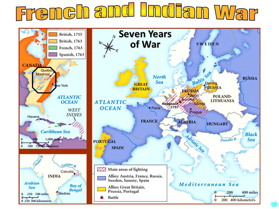 French and Indian War Seven Years of War