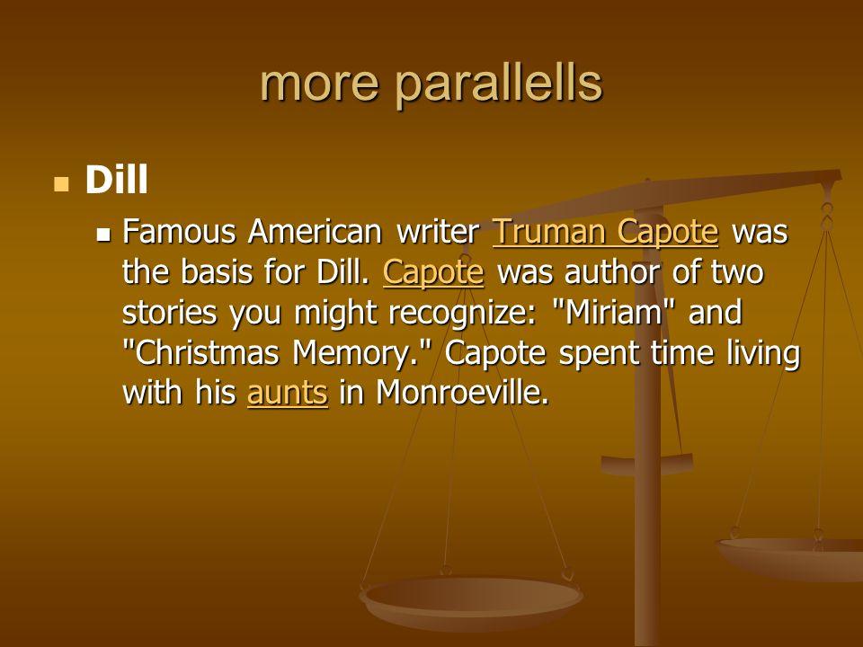 more parallellsDill.