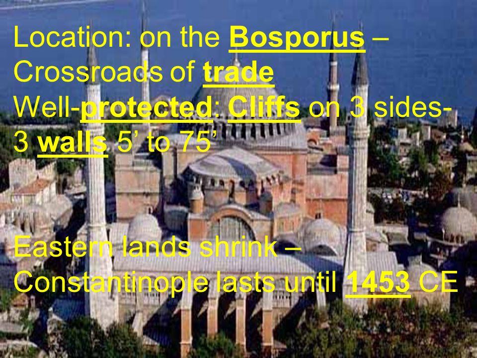 Location: on the Bosporus – Crossroads of trade