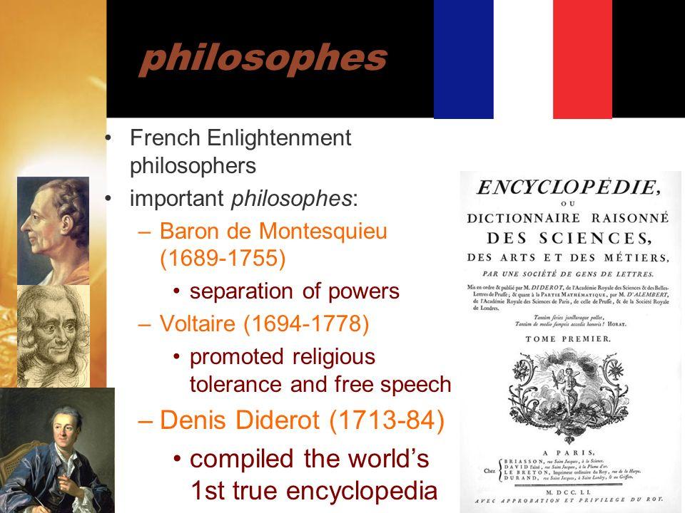 philosophes Denis Diderot (1713-84)