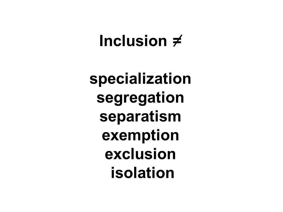 Conversations About Inclusion Ppt Download