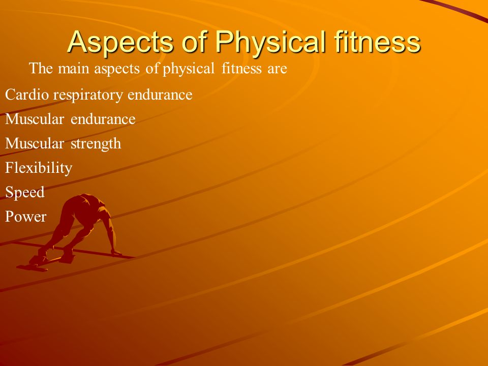 Aspects of Physical fitness