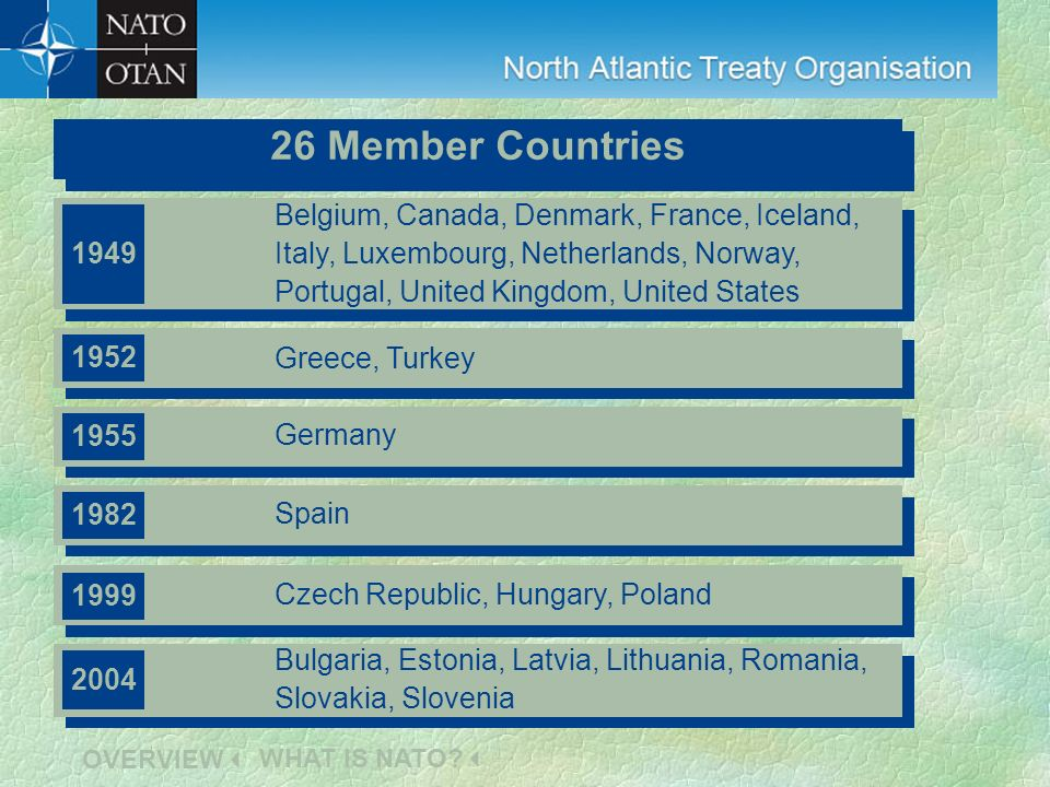 Member countries Member countries 26 Member Countries