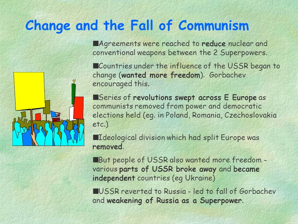 Change and the Fall of Communism