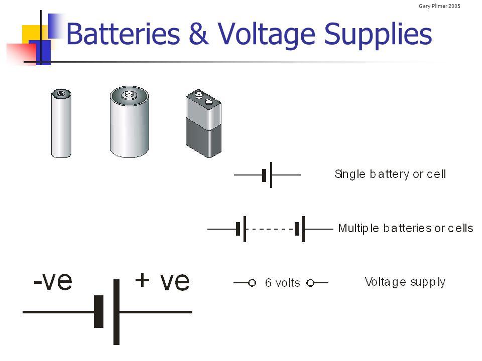 Batteries & Voltage Supplies