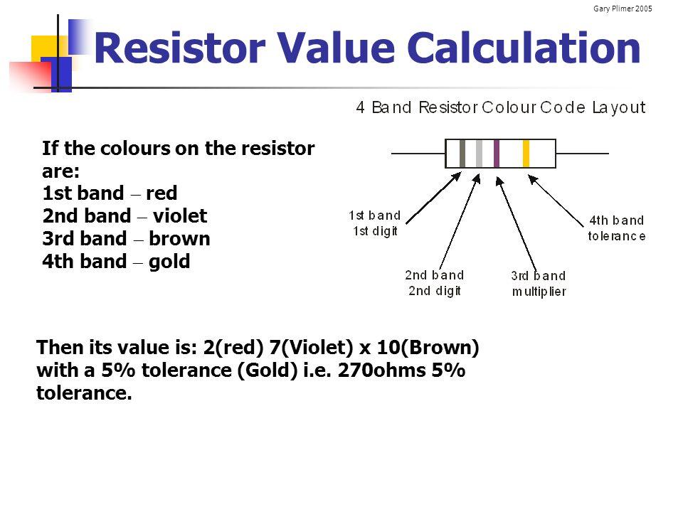 Resistor Value Calculation