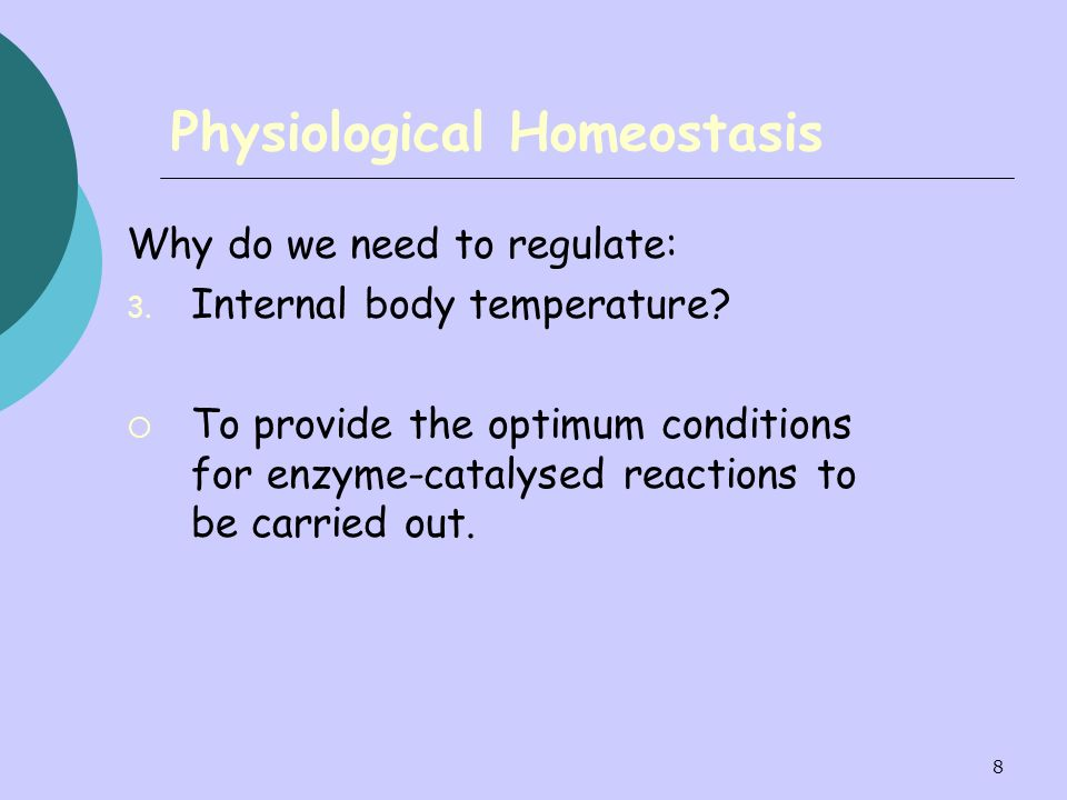 Physiological Homeostasis