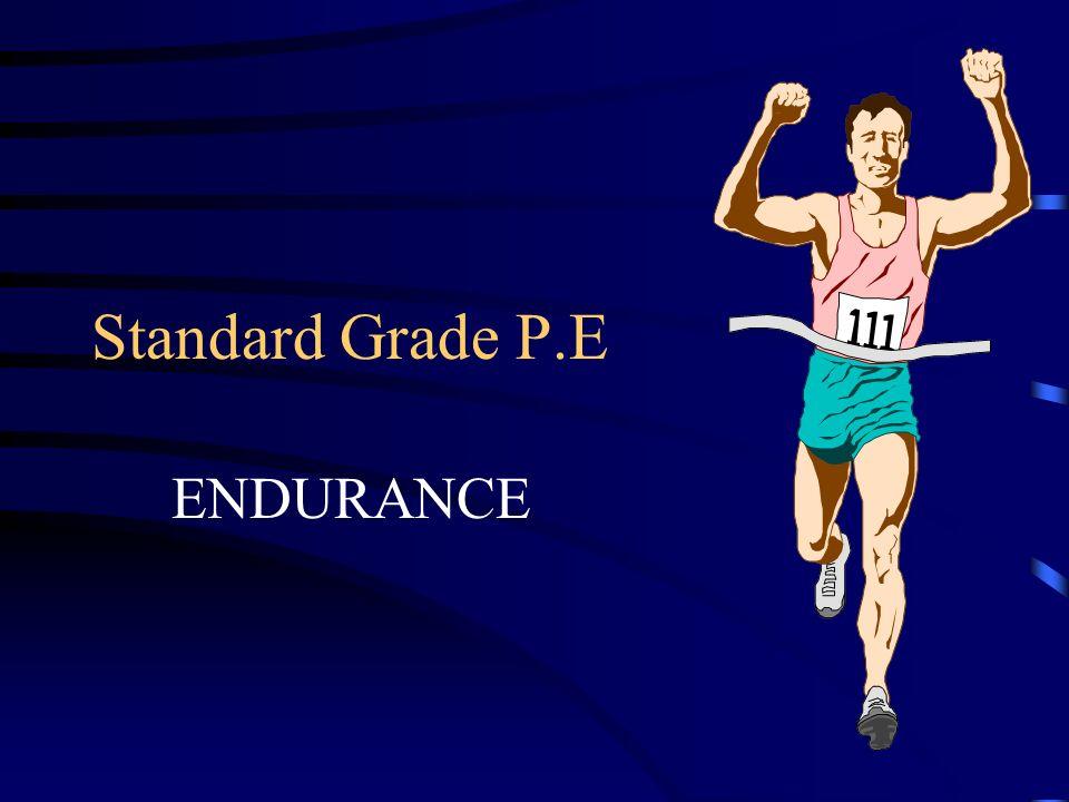 Standard Grade P.E ENDURANCE
