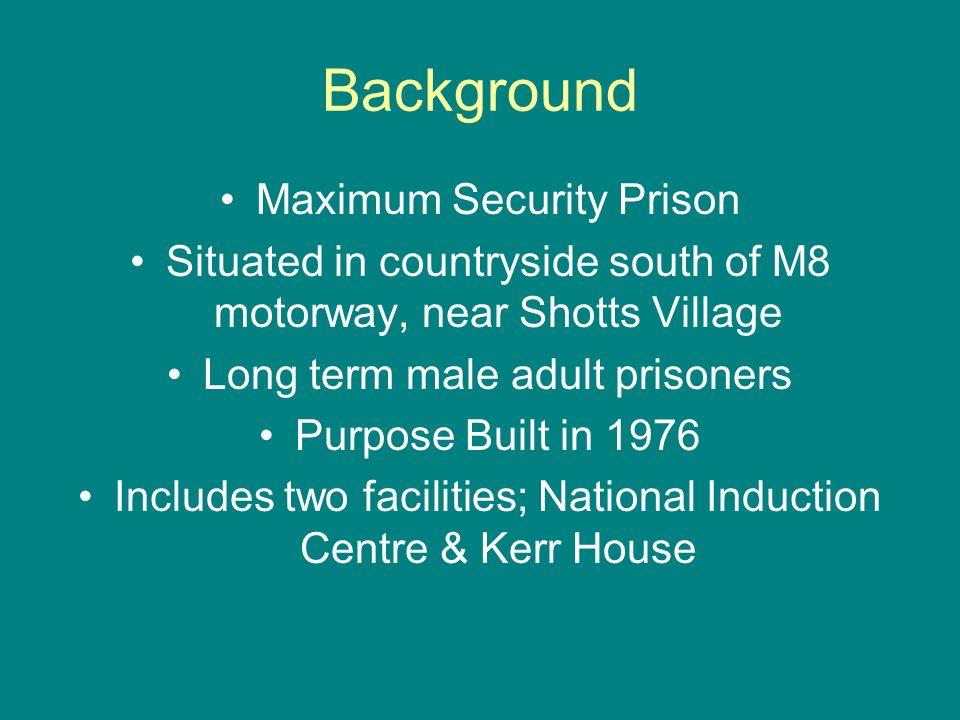 Background Maximum Security Prison