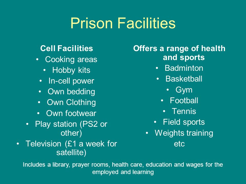 Offers a range of health and sports