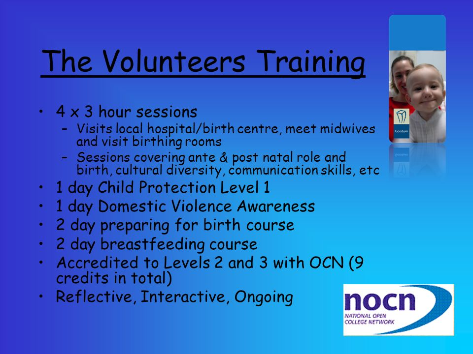 The Volunteers Training