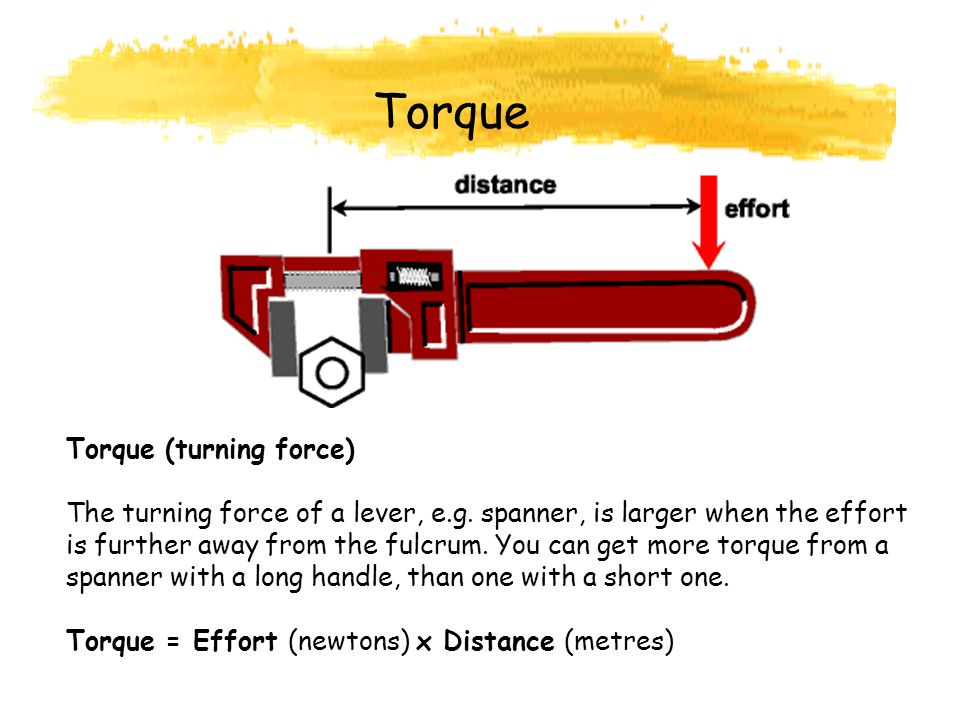 Torque Torque (turning force)