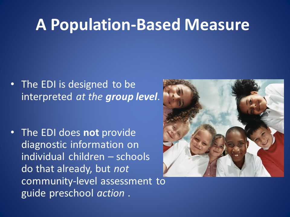 A Population-Based Measure