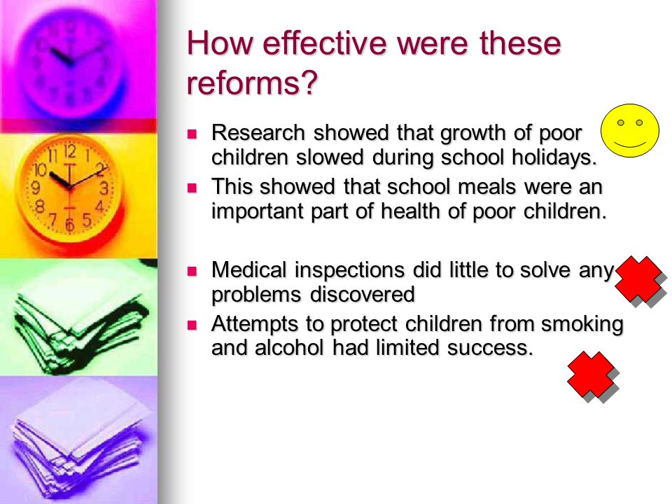 How effective were these reforms