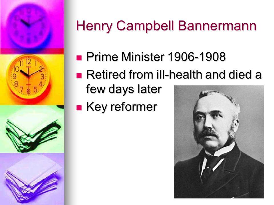 Henry Campbell Bannermann