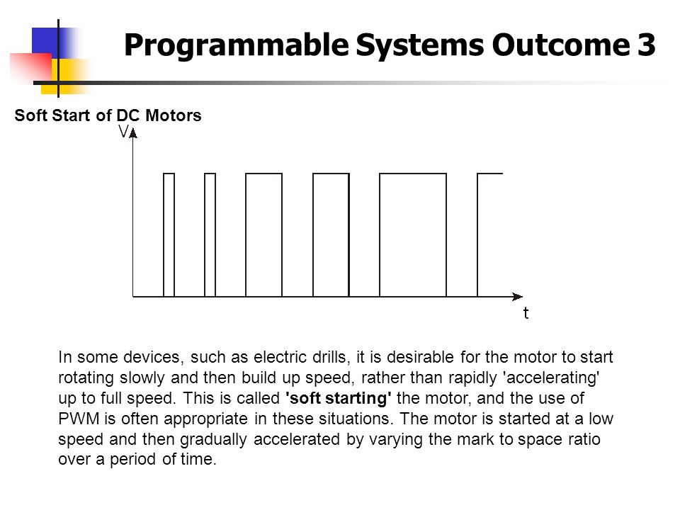 Programmable Systems Outcome 3