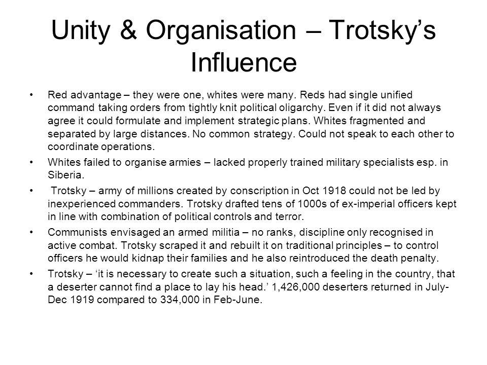 Unity & Organisation – Trotsky's Influence