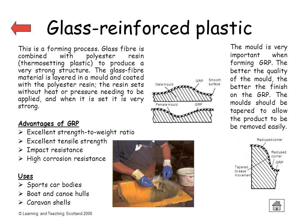 Glass-reinforced plastic