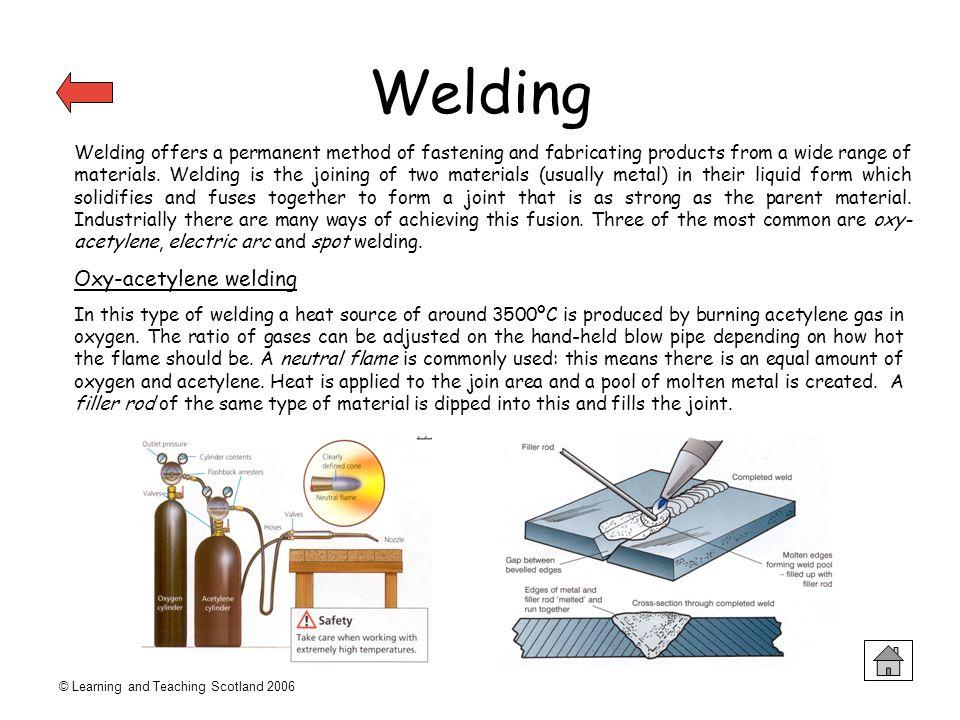 Welding Oxy-acetylene welding