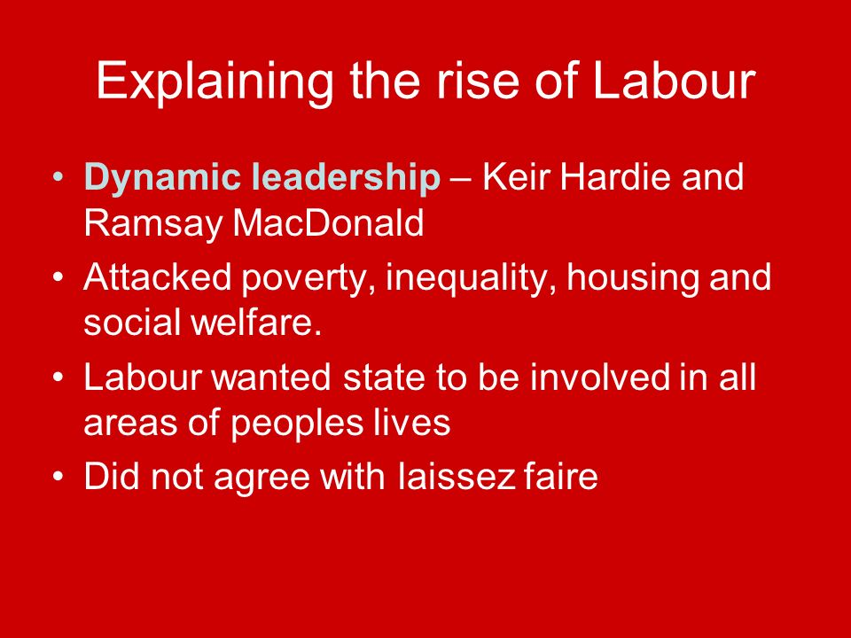 Explaining the rise of Labour