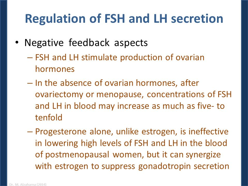 Hormonal Control of Reproduction in the Female - ppt download
