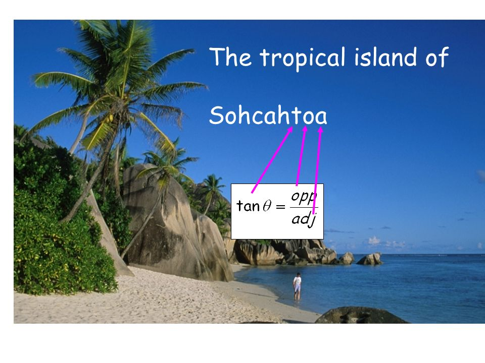 The tropical island of Sohcahtoa