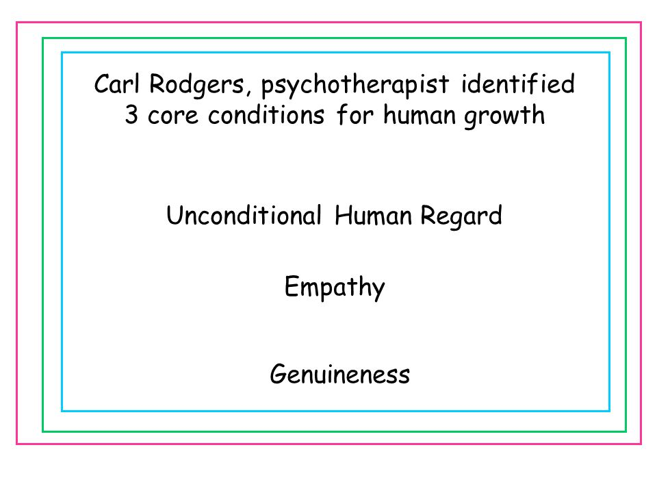 Carl Rodgers, psychotherapist identified