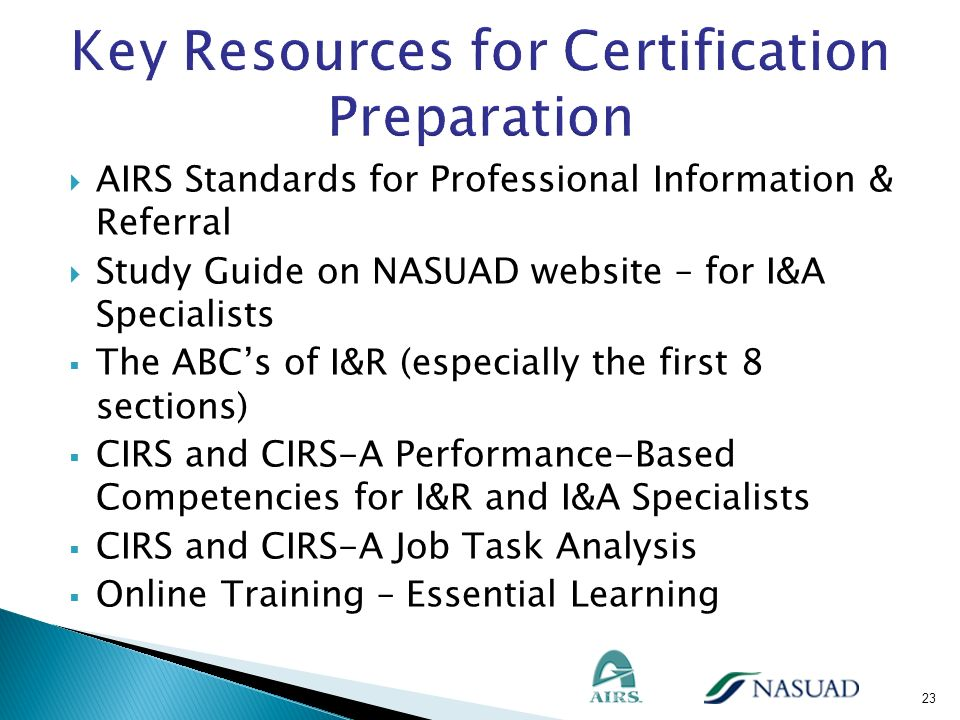 Key Resources for Certification Preparation
