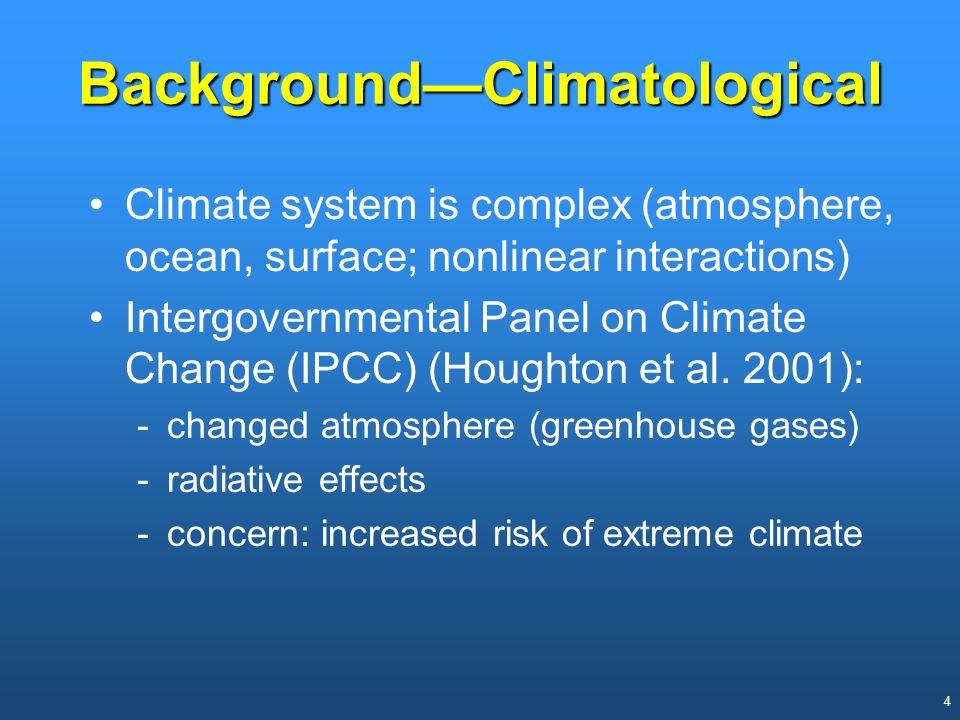 Background—Climatological