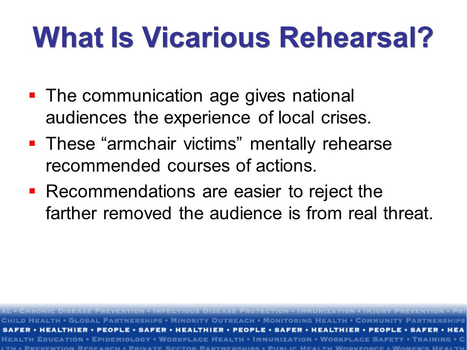 What Is Vicarious Rehearsal