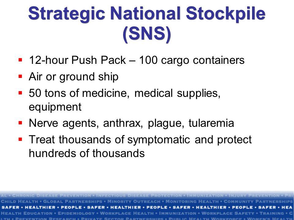 Strategic National Stockpile (SNS)