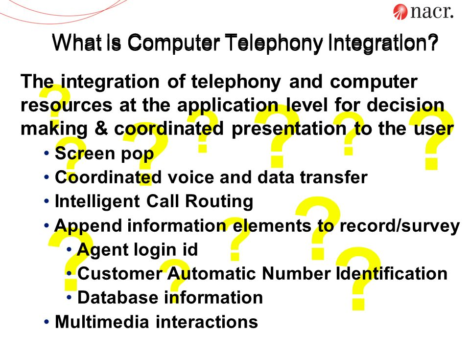 What is Computer Telephony Integration
