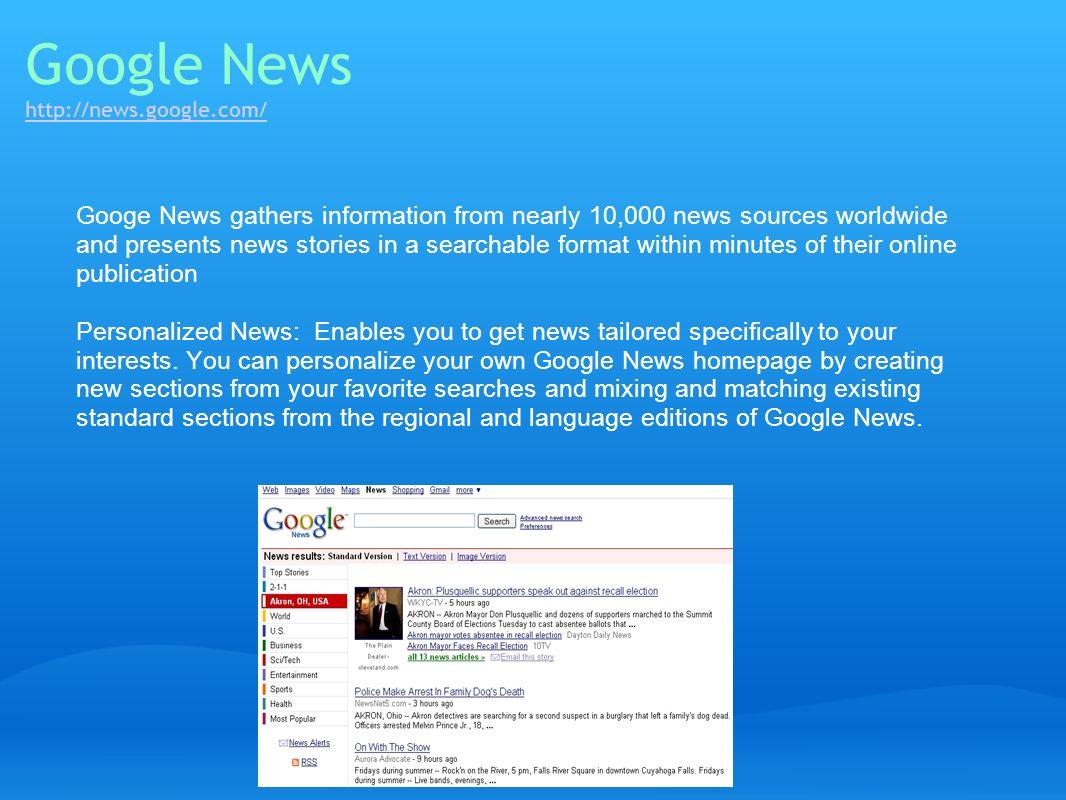 Google News http://news.google.com/
