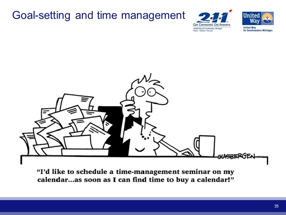 Goal-setting and time management