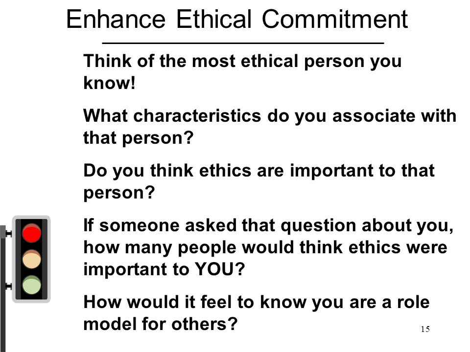 Enhance Ethical Commitment