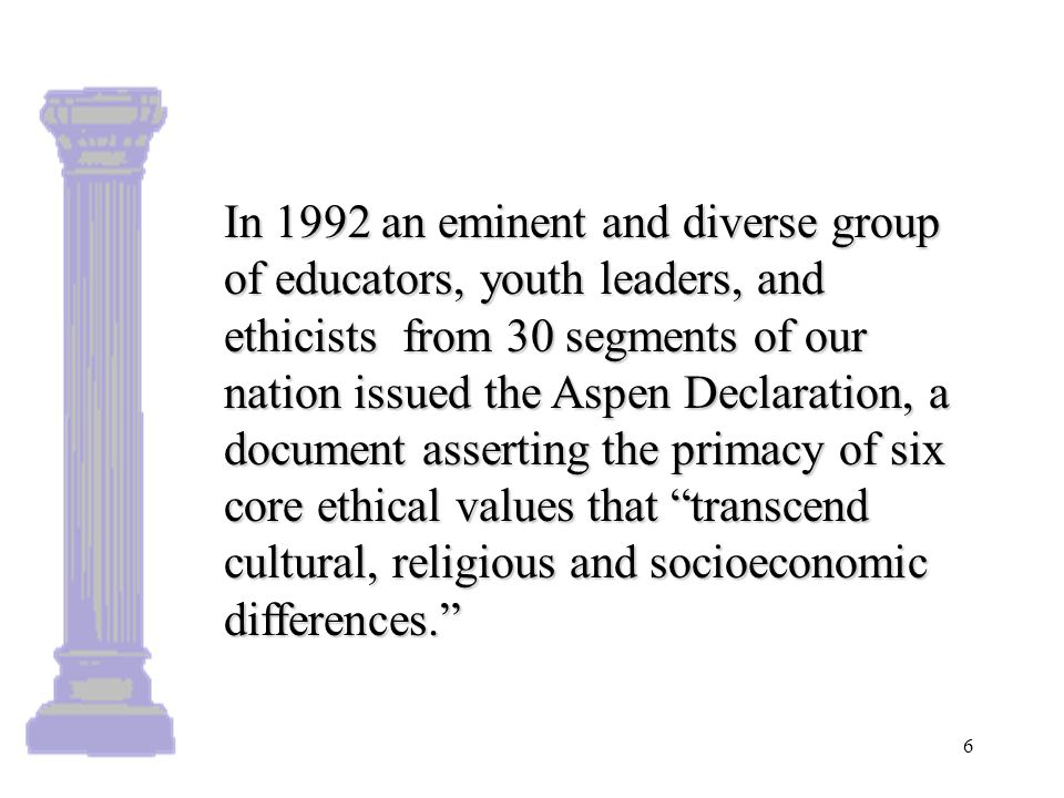 Aspen Declaration