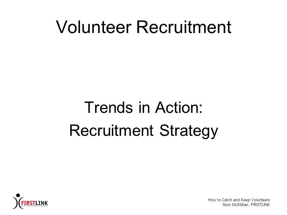 Volunteer Recruitment