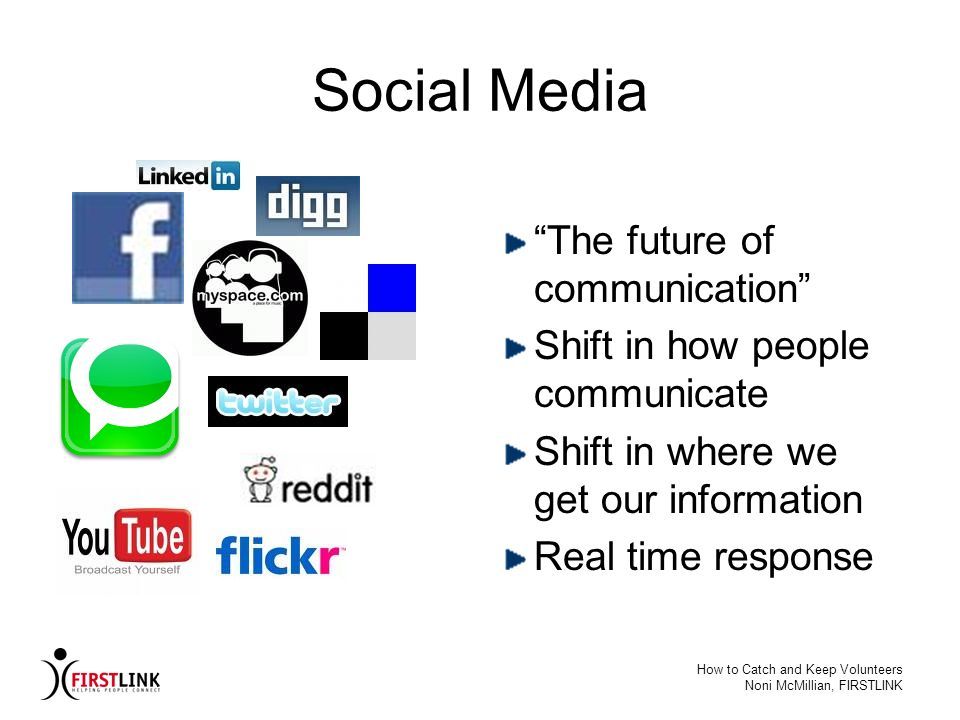 Social Media The future of communication